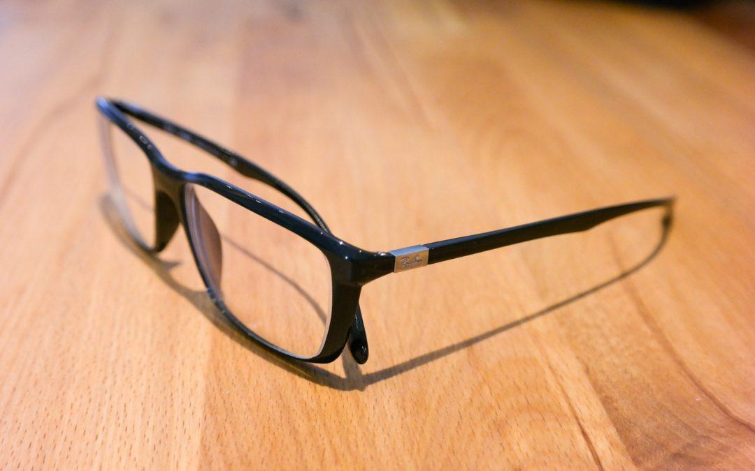 Tips om ljuset reflekteras i glasögonen